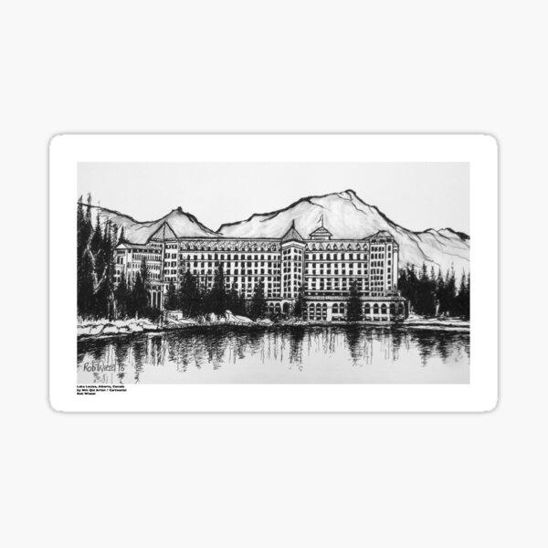 Lake Louise, Alberta, Canada Sticker