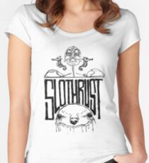 Slothrust  Women's Fitted Scoop T-Shirt
