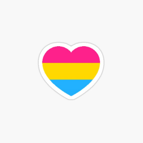 fierté pansexuelle Sticker