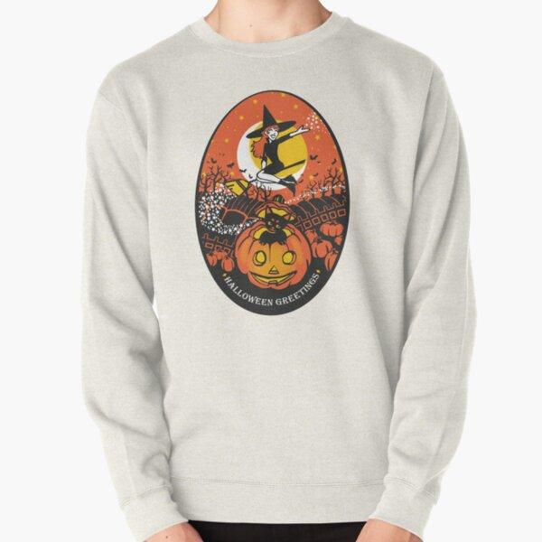 Halloween Greetings Pullover Sweatshirt