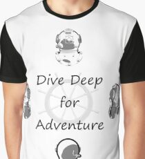 Diving Adventure Graphic T-Shirt
