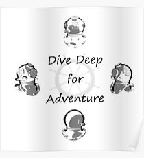 Diving Adventure Poster