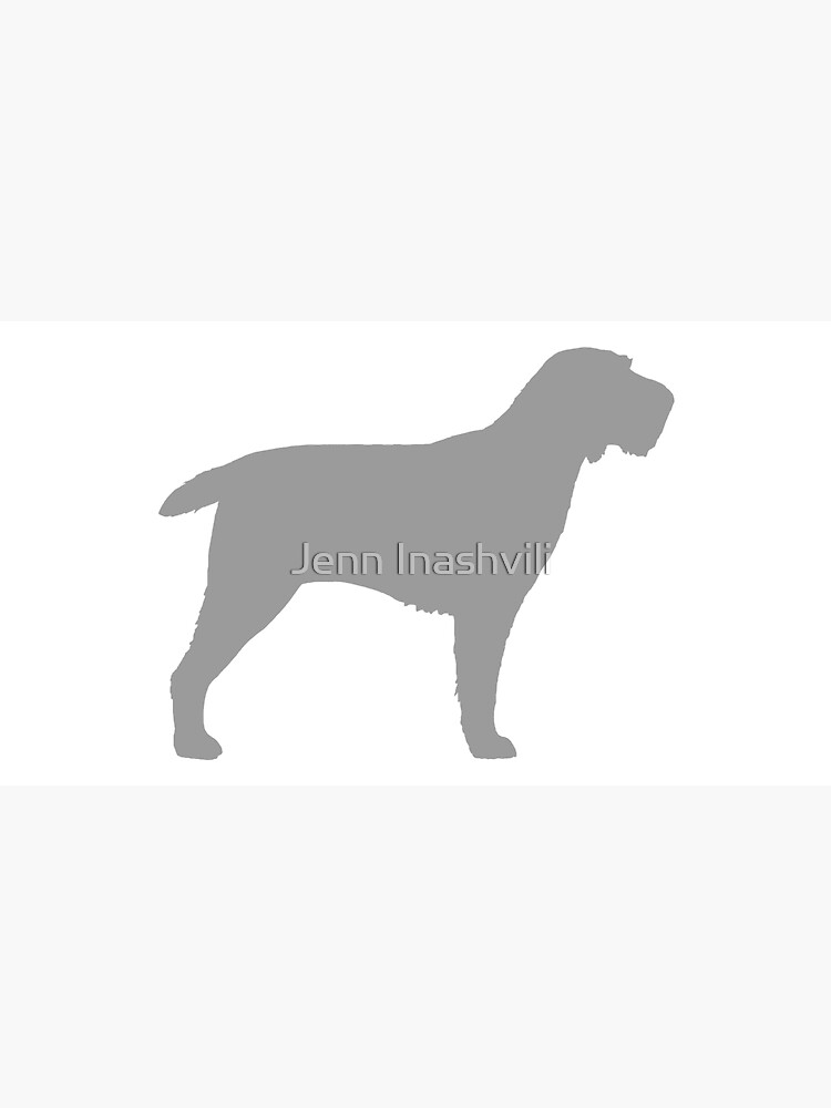 Spinone Italiano Silhouette(s) by ShortCoffee