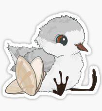 Piper - Baby Sandpiper mit Muscheln Sticker