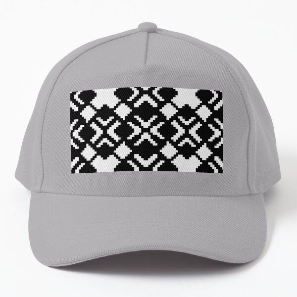 Geometric Abstraction Decorative Pattern Baseball Cap