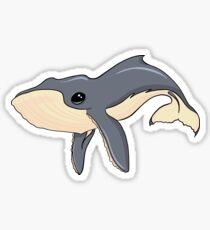 Cute Baby Humpback Whale Sticker