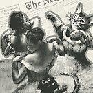 Striped dancers von catFreud