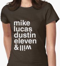 Stranger Kids Womens Fitted T-Shirt