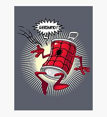 Spider-can Photographic Print