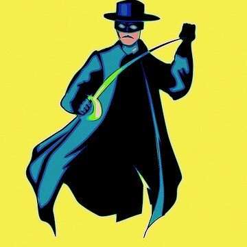 Zorro Pop Art by FlorianRodarte
