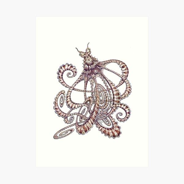 Mimic Octopus Art Print