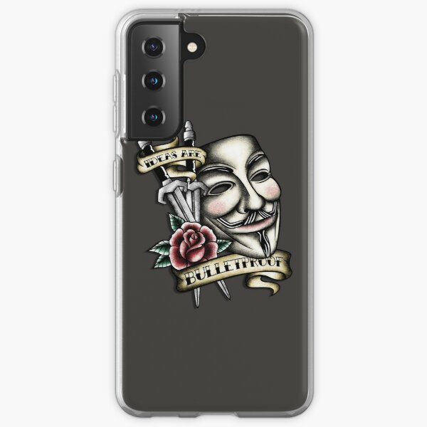 Vendetta de la vieja escuela Funda blanda para Samsung Galaxy