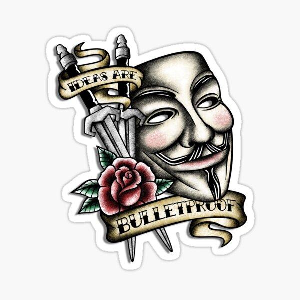 Old School Vendetta Sticker