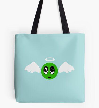 Angel Smiley (green) VRS2 Tote Bag