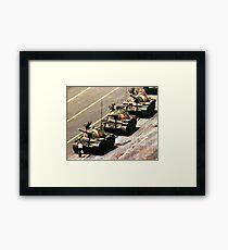 Tank Man Framed Print