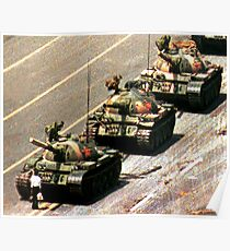 Tank Man Poster