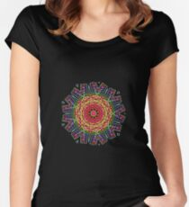 Mandalas 30 Women's Fitted Scoop T-Shirt