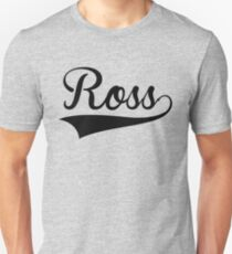 Baseball-Stil Ross Slim Fit T-Shirt
