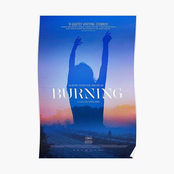 Burning Movie Poster Poster