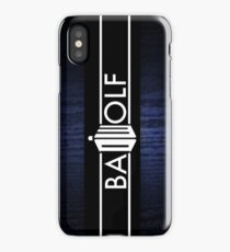 Bad Wolf - Formatted for iDevices iPhone Case