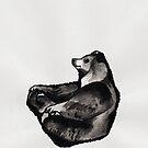 Zen bear by Marikohandemade