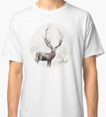 Art Illustration - Deer in the fog Classic T-Shirt