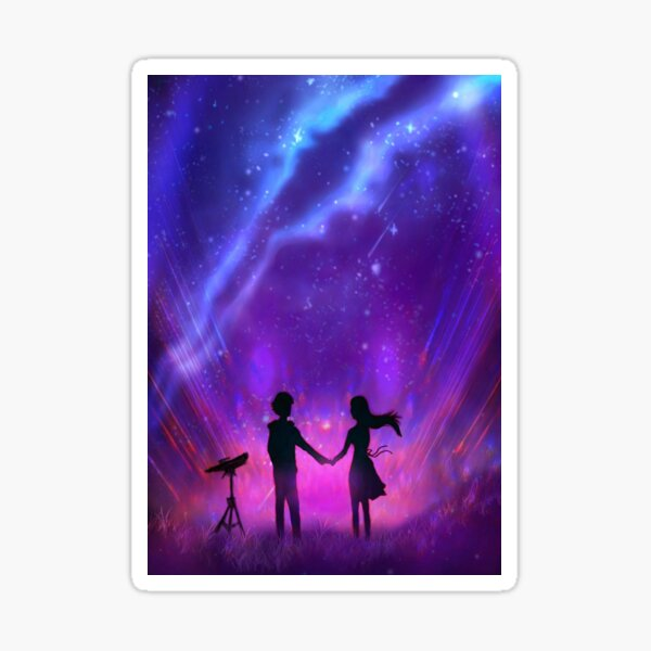 Wish From The Stars Sticker