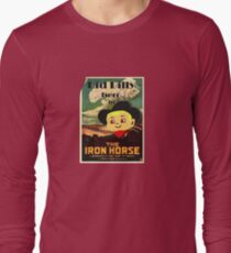 Kid Billy Cowboy movie poster tee Long Sleeve T-Shirt
