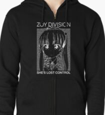 ZOY DIVISION Zipped Hoodie