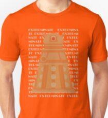 Exterminate Orange T-Shirt