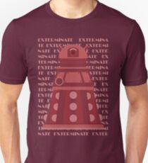 Exterminate Red T-Shirt