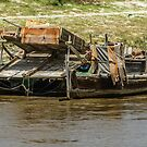 Gold Sluicing Boats by Werner Padarin