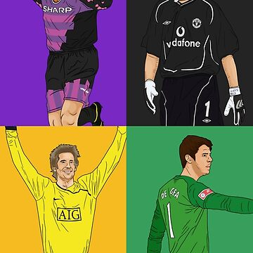 MUFC Goal Keepers by UNITEEDS
