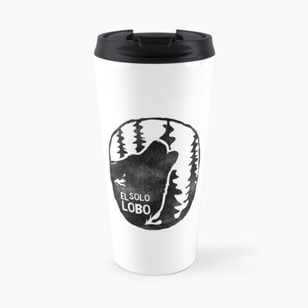 El solo lobo Travel Mug