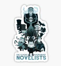Extraordinary Novelists Sticker