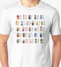Muppet Alphabet T-Shirt