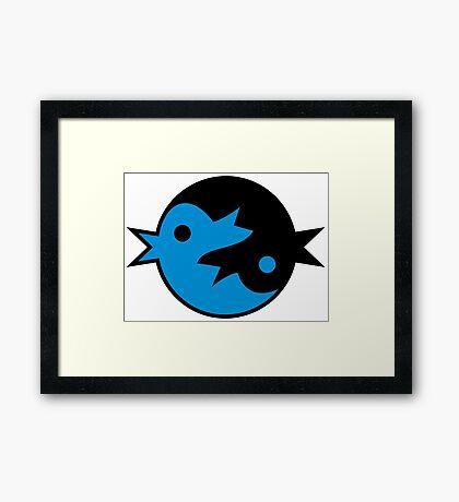 Zen Tweet VRS2 Framed Print