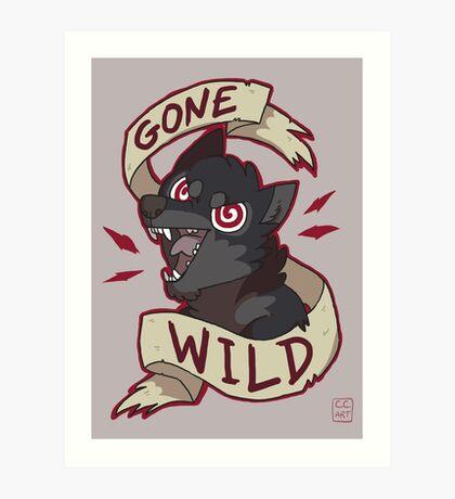 Gone Wild Art Print