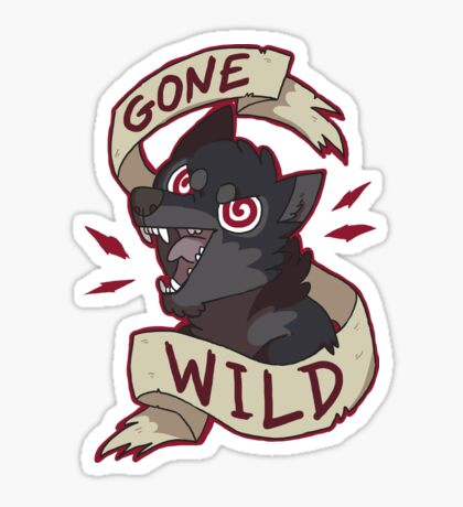 Gone Wild Sticker