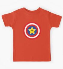 Captain Mario Kids Tee