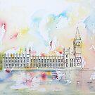 London River Thames: Summer Cruise by Pat  Elliott