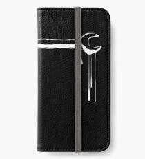 Splatter Spanner (white) iPhone Wallet/Case/Skin