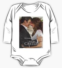 Caskett Wedding One Piece - Long Sleeve
