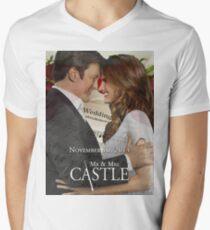 Caskett Wedding Men's V-Neck T-Shirt