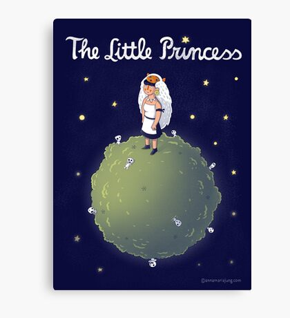 The Little Princess Canvas Print