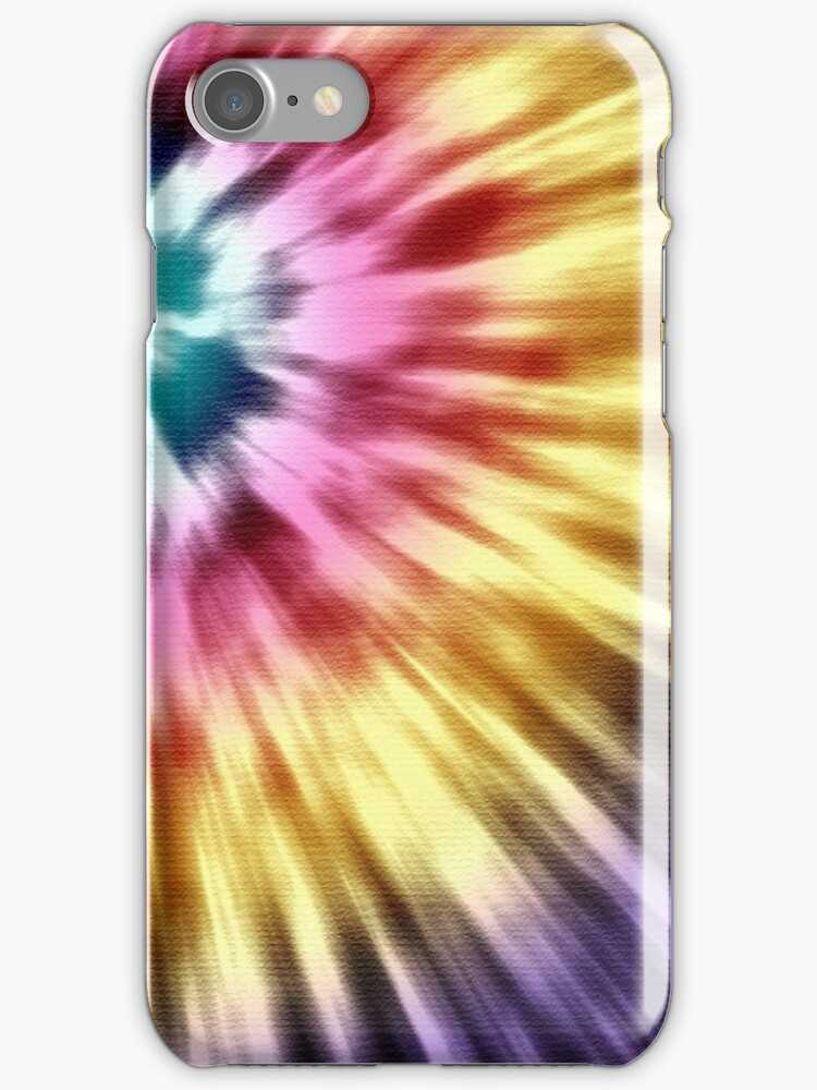 Abstract Purple Tie Dye by Phil Perkins