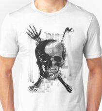 Wicked Skull with Bones Unisex T-Shirt