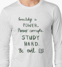 Procrastination motivation Long Sleeve T-Shirt