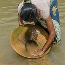 Gold Panning by Werner Padarin