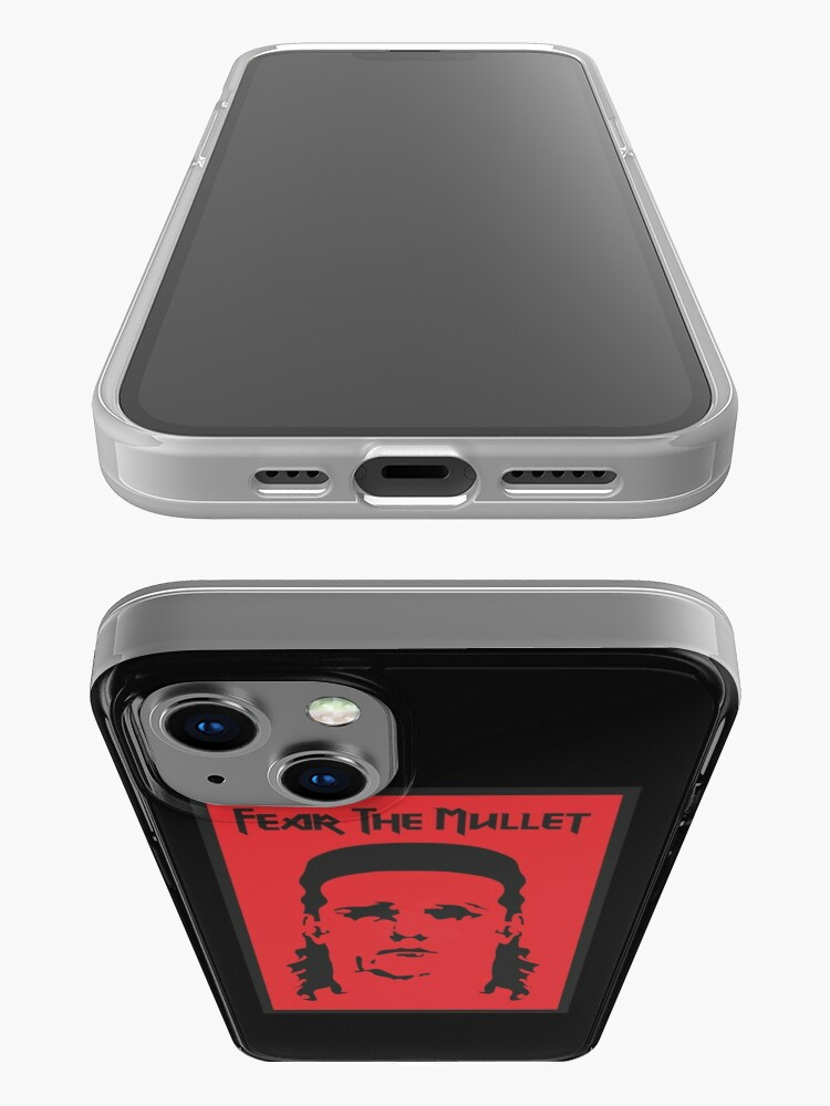 Alternate view of Fear the Mullet iPhone Case